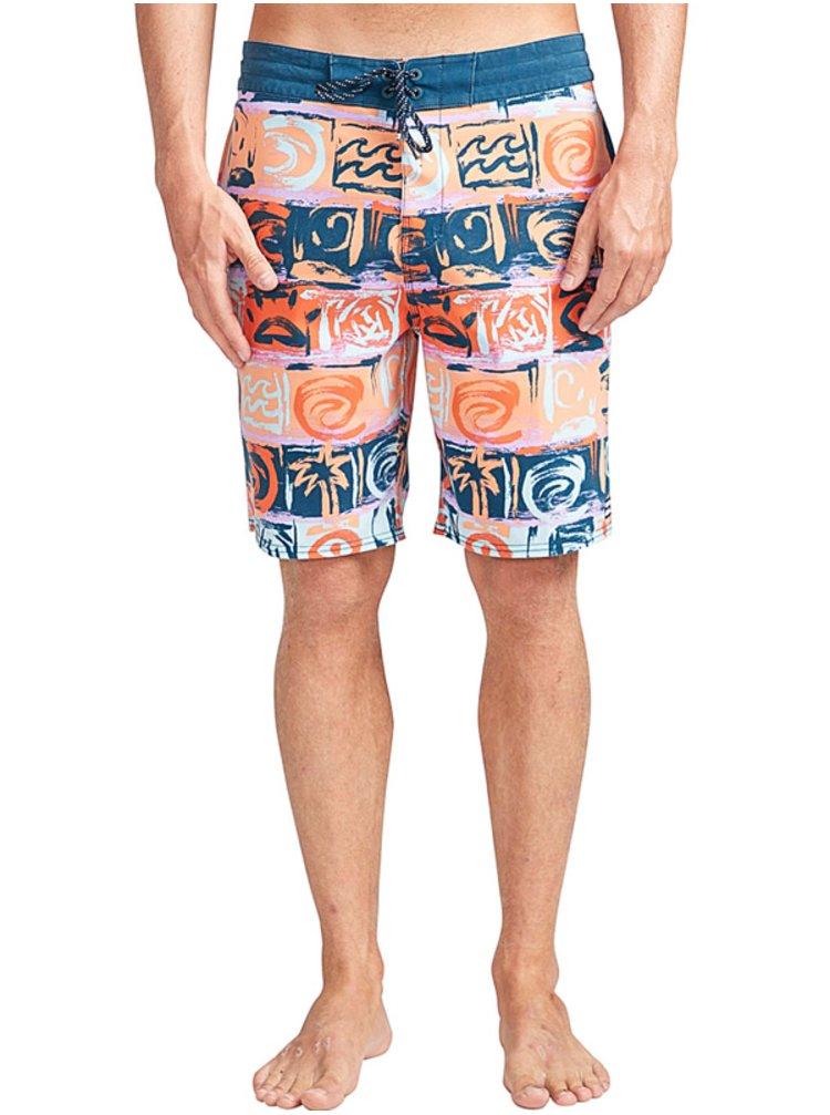 Billabong SUNDAYS LT ORANGE pánské kraťasové plavky - oranžová