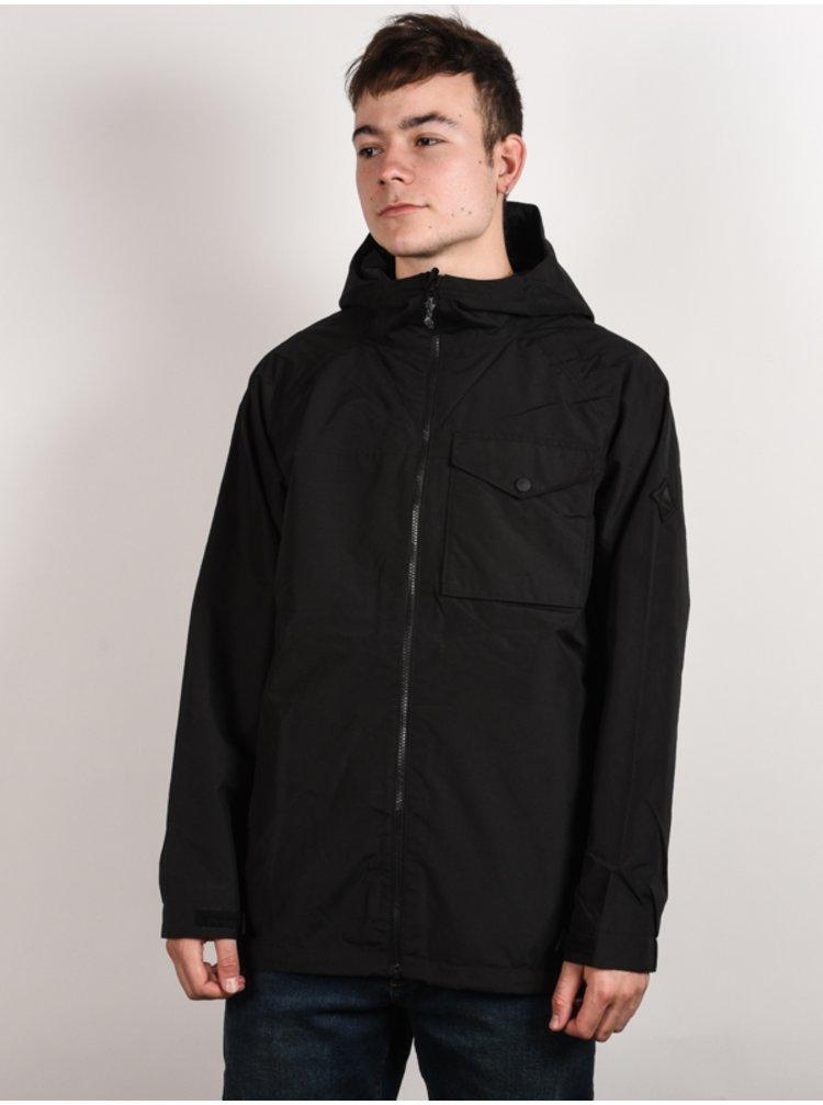 Burton PORTAL TRUE BLACK zimní pánská bunda - černá