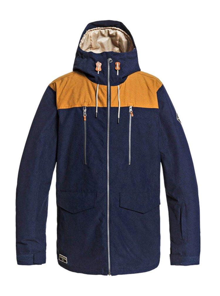 Quiksilver FAIRBANKS NAVY BLAZER zimní pánská bunda - modrá