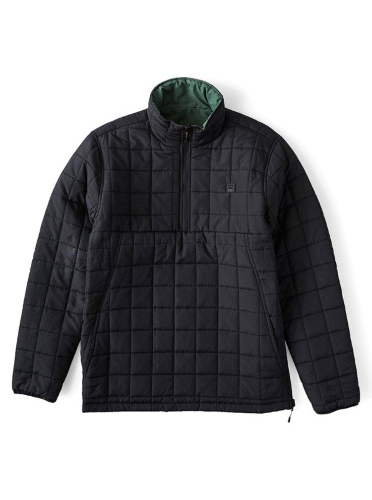 Billabong BOUNDARY RVRSBL PFFR black podzimní bunda pro muže - černá