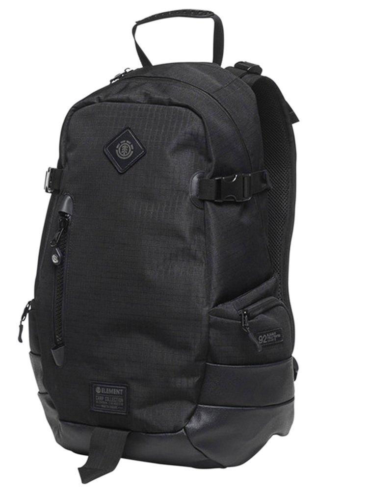 Element JAYWALKER OUTWARD all black batoh do školy - černá