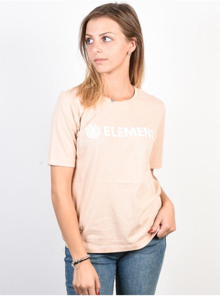 Element ELEMENT LOGO BLUSH dámské triko s krátkým rukávem - oranžová