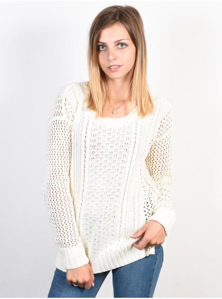 Element VOYAGE IVORY svetr dámský - bílá