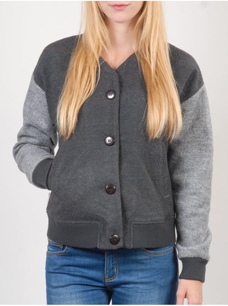 Element MADDY 328 podzimní bunda pro ženy - šedá