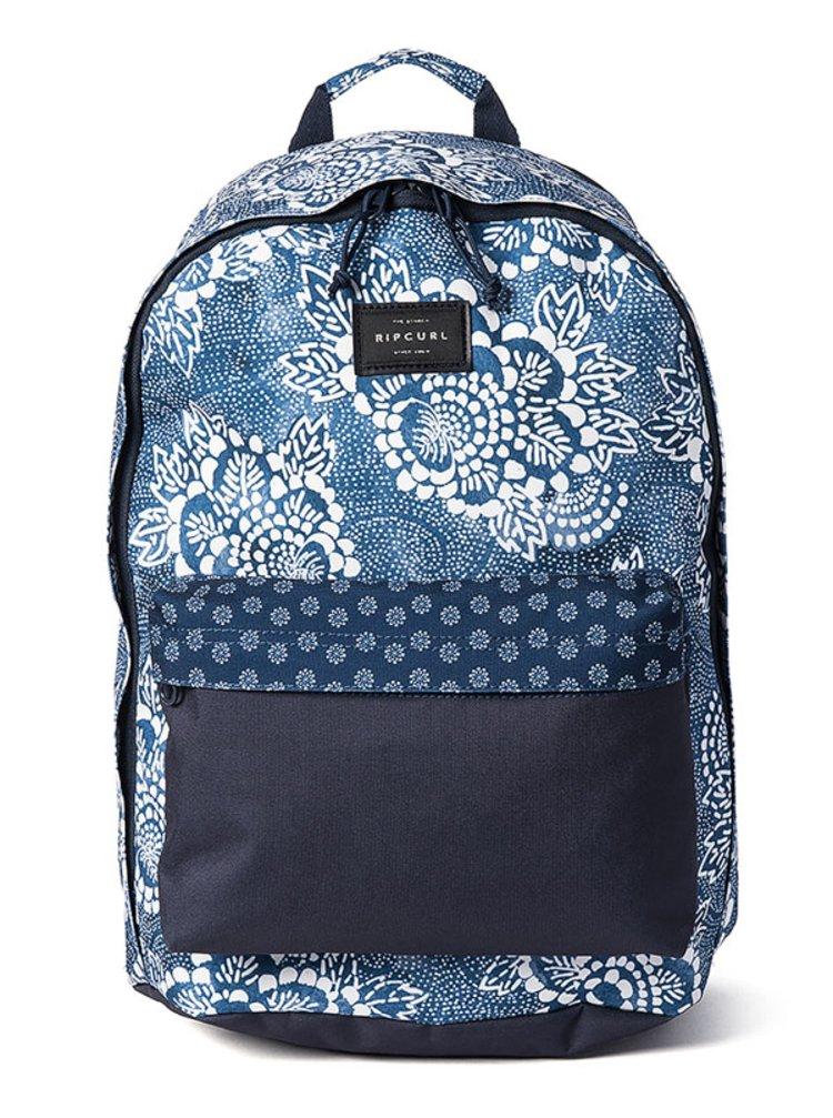 Rip Curl DOME DELUXE COASTALV NAVY batoh do školy - modrá
