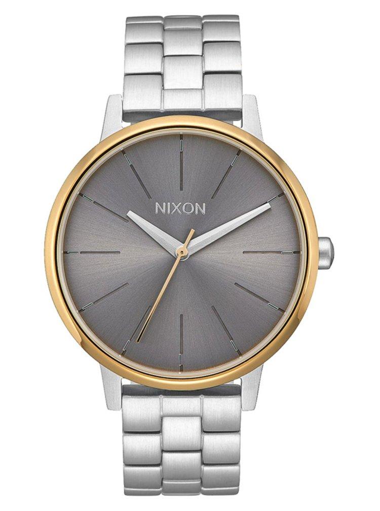 Nixon KENSINGTON SILVERGOLDGRAY analogové sportovní hodinky - šedá