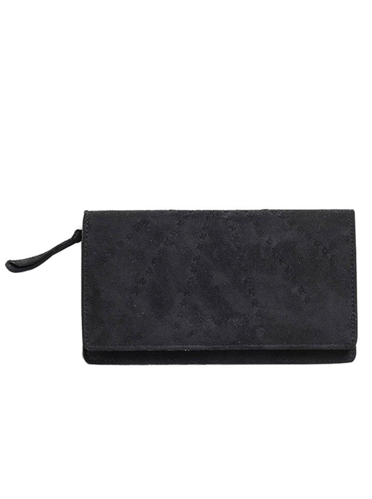 Rip Curl LOTUS SOFT CHEQUE BO black dámská značková peněženka - černá