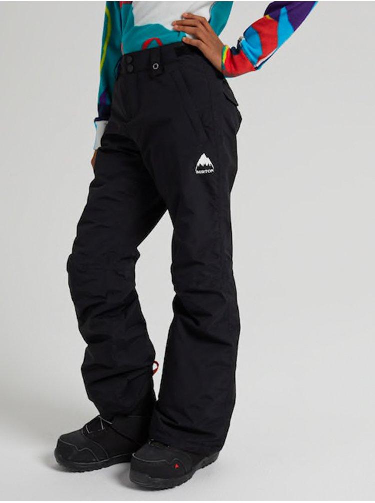 Burton SWEETART TRUE BLACK dětské zimní kalhoty - černá
