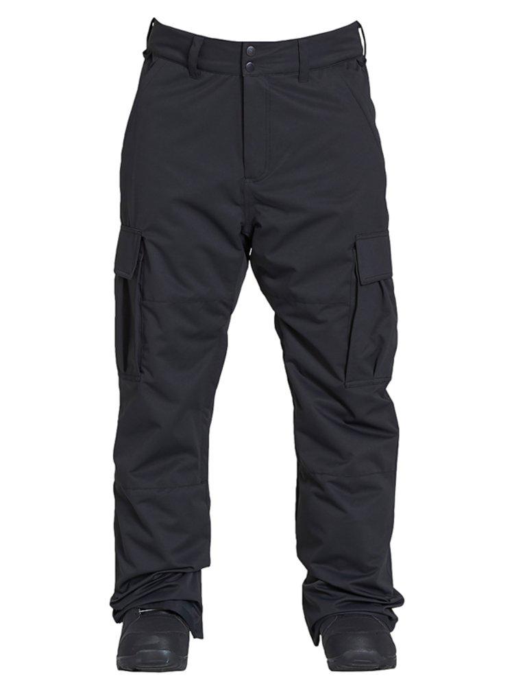 Billabong TRANSPORT black lyžařské kalhoty pánské - černá