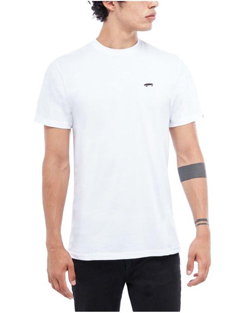 Vans SKATE CLASSIC white pánské triko s krátkým rukávem - bílá