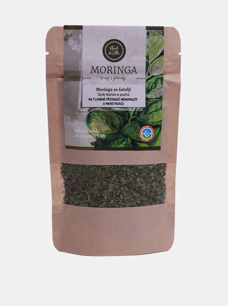 Bylinná směs Moringa olejodárná se šalvějí Herb & Me (30 g)
