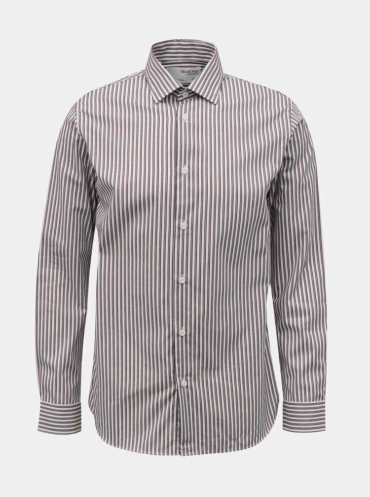 Camasi casual pentru barbati Selected Homme - alb