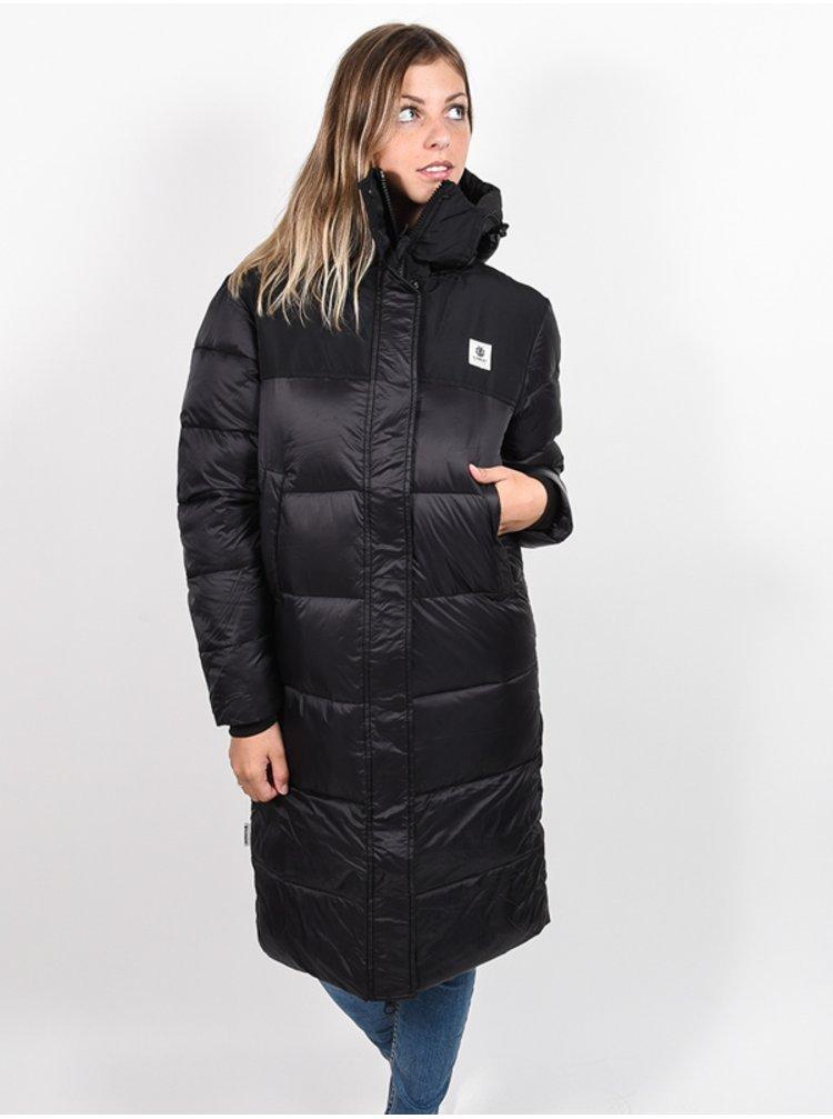 Element DULCEY PUFF LONG FLINT BLACK zimní dámská bunda - černá