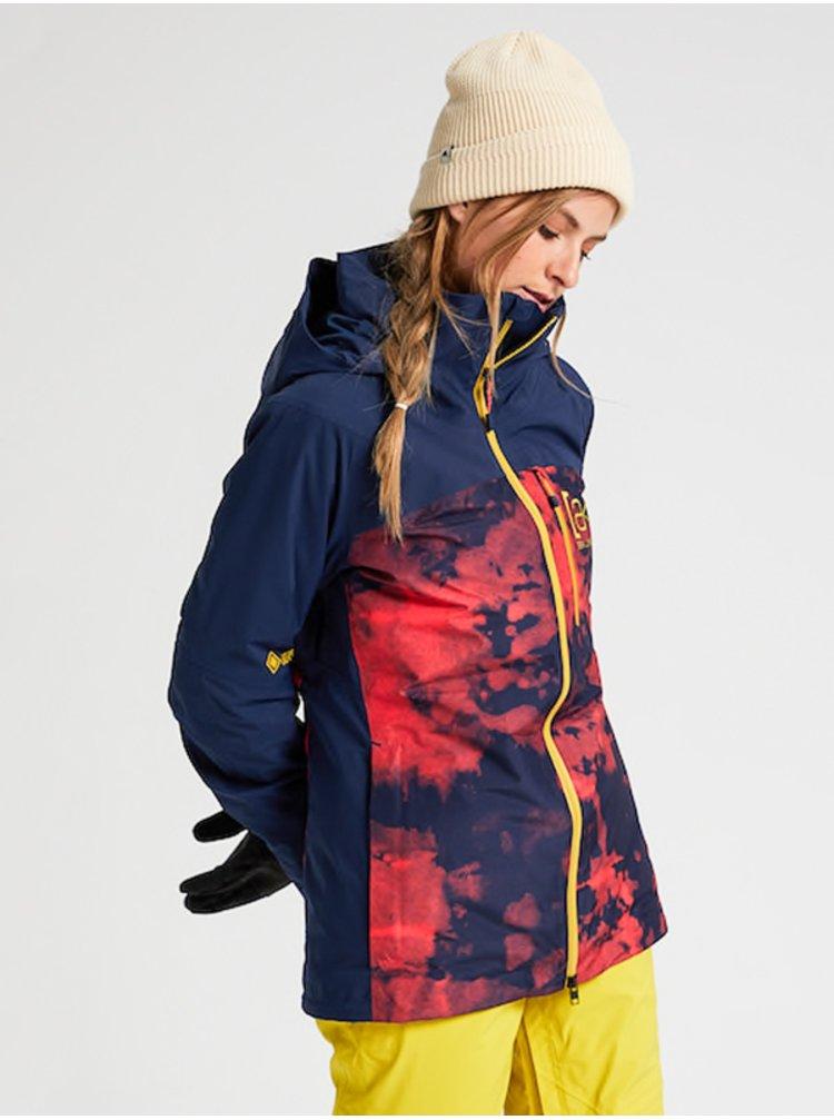 Burton AK GORE EMBARK HCLDMB/DRSBLU zimní dámská bunda - modrá