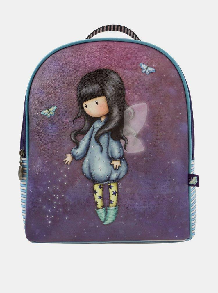Santoro fialový batoh Gorjuss Bubble Fairy