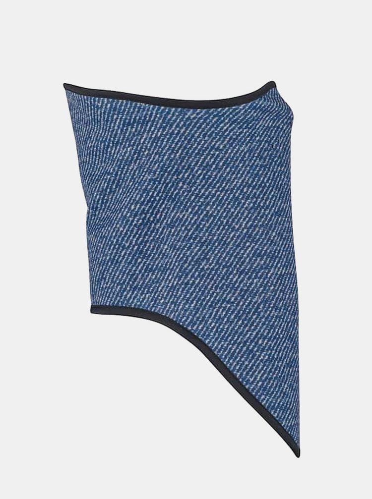 Burton BONDED MOOD INDIGO TWILL nákrčník - modrá