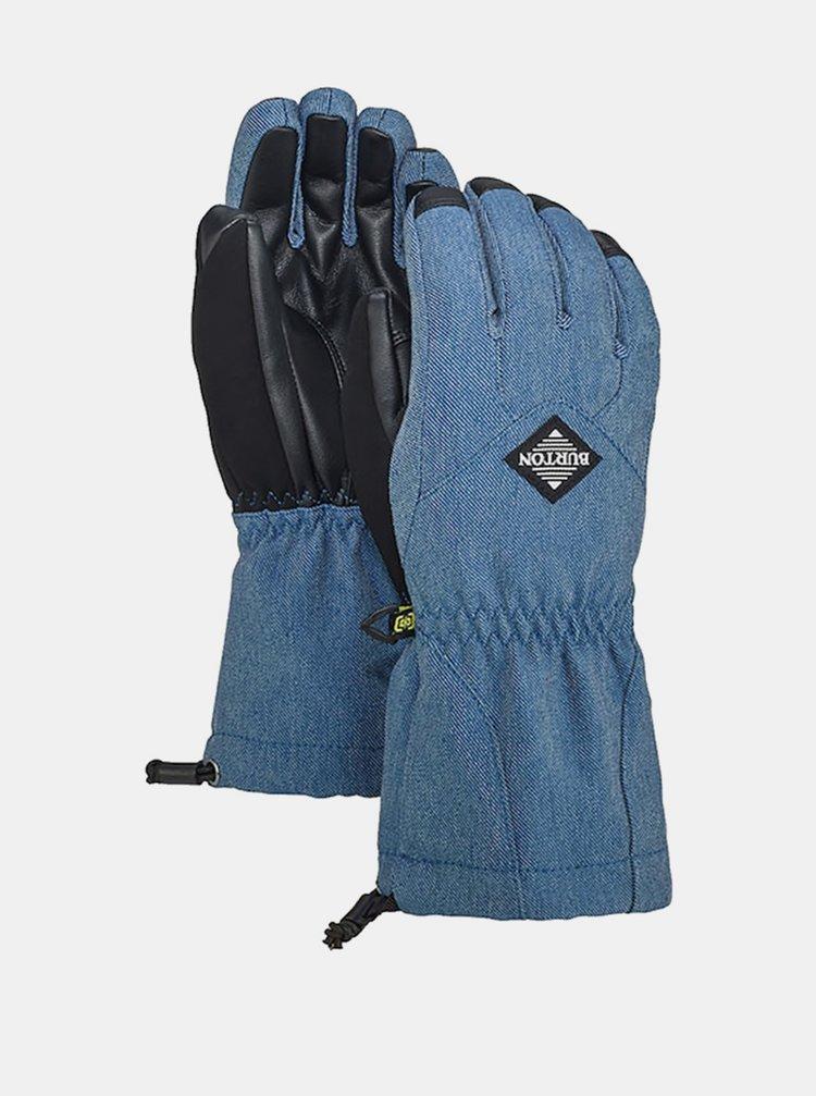 Burton PROFILE light denim dětské zimní prstové rukavice - modrá