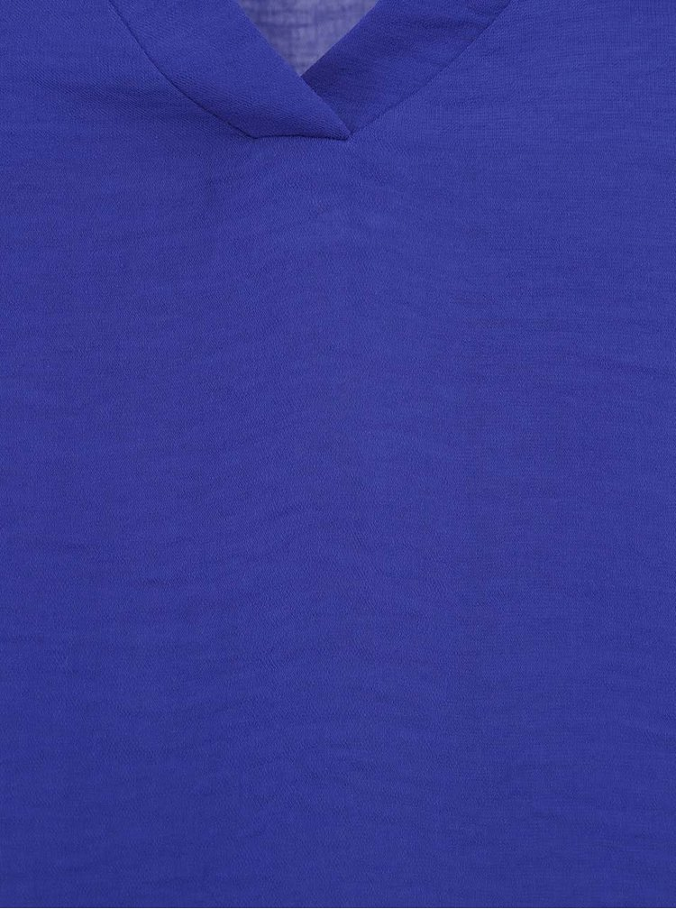 Bluză cu mânecă lungă albastră ONLY Malou