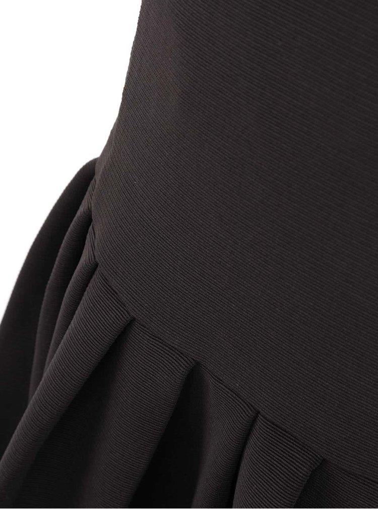 Rochie neagra fara maneci minimalista Kling Odette