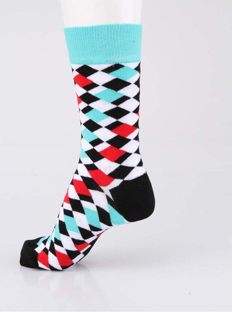 Sada tří barevných pánských ponožek se vzorem Oddsocks Adam