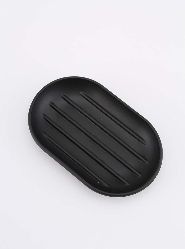 Farfurioara de sapun Touch neagra de la Umbra