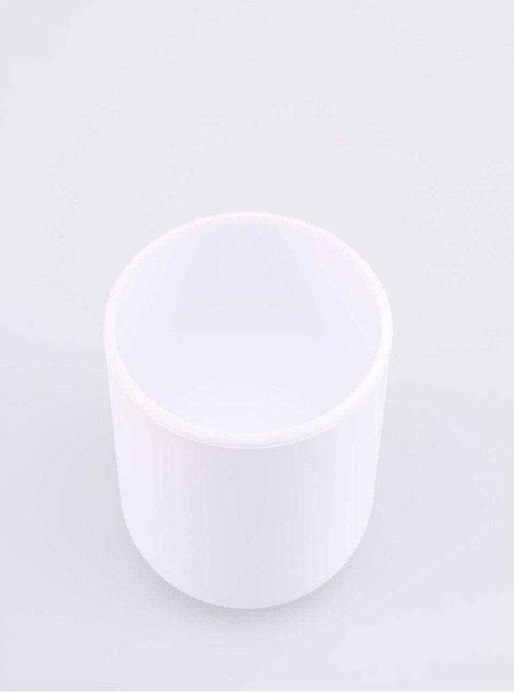 Cană suport pentru periuțe de dinți Touch albă de la Umbra