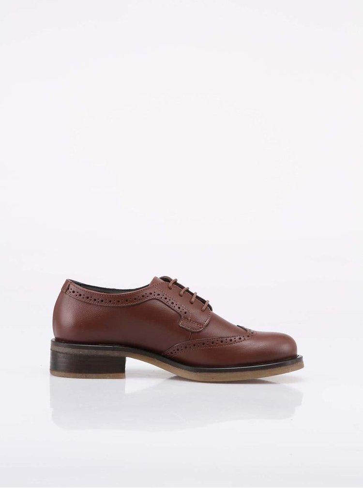 U.S. Polo Assn. Pantofi Irma de damă, din piele - maro