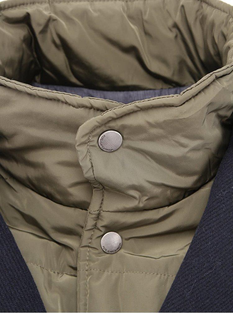 Tmavomodrá bunda a sako 2v1 Pepe Jeans Cortina