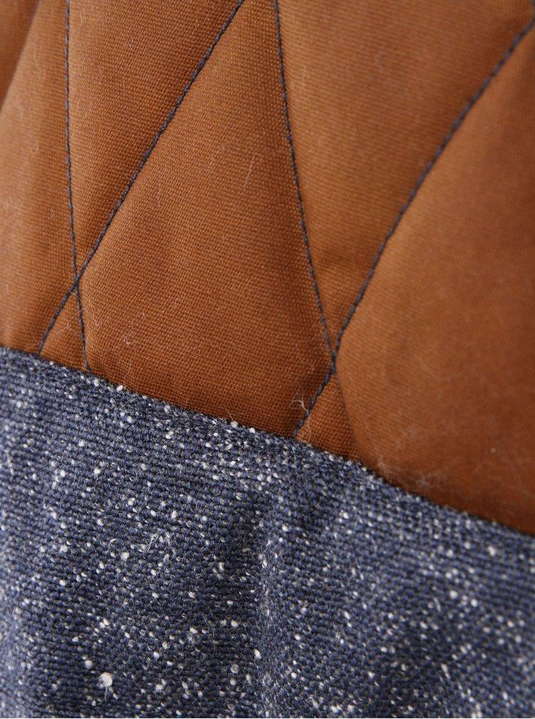 Tmavě modrá pánská bunda Vans Bridger