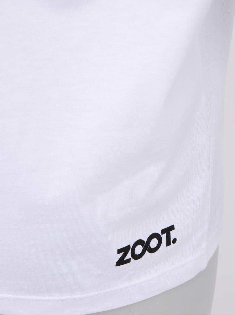 Bílé pánské tričko ZOOT Signal Ring Ging Bling
