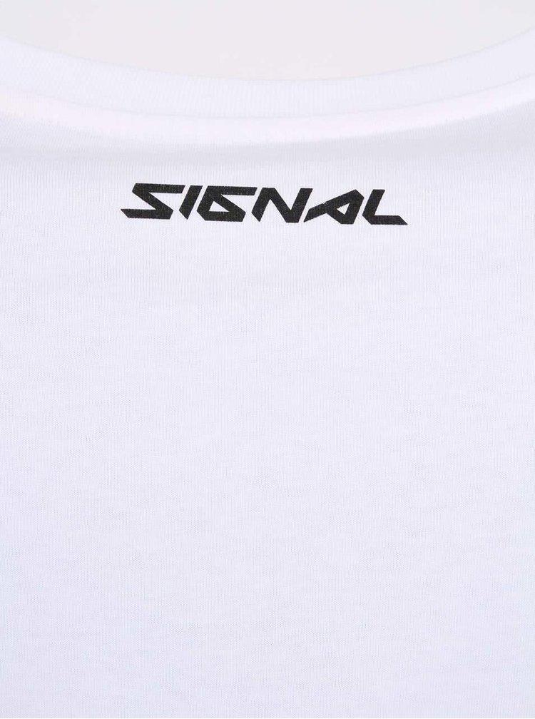 Bílé pánské triko ZOOT Signal Ring Ging Bling