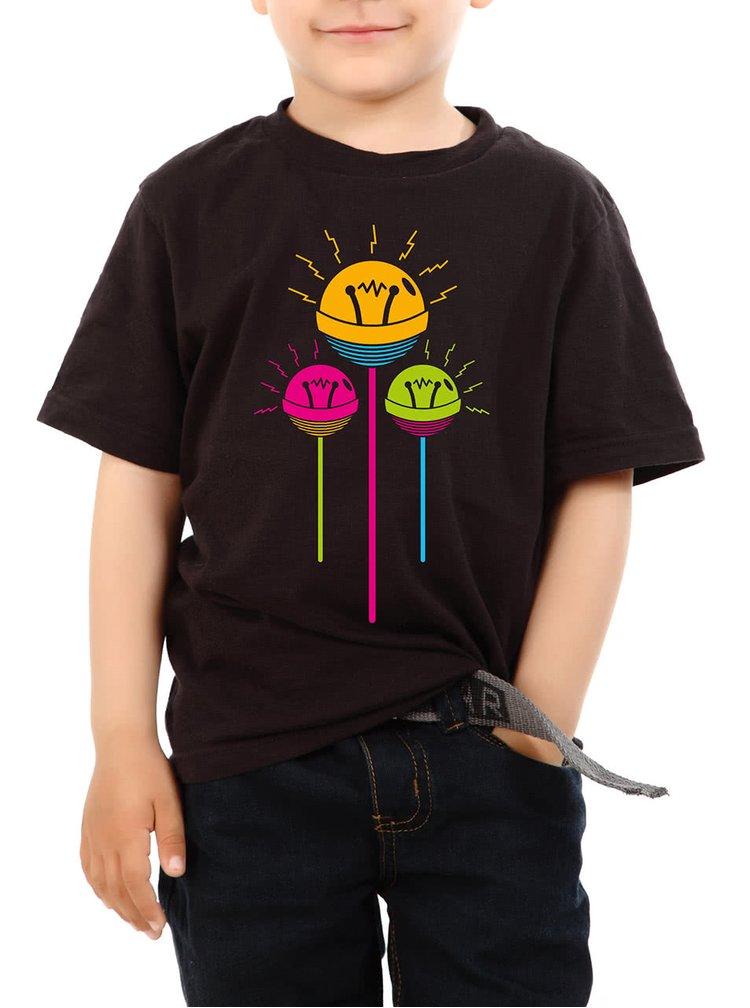 Černé dětské tričko ZOOT Lollipop