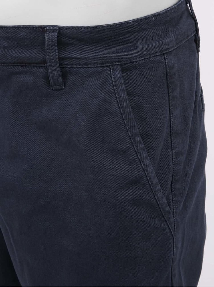 Tmavě modré kalhoty !Solid Joe Stretch