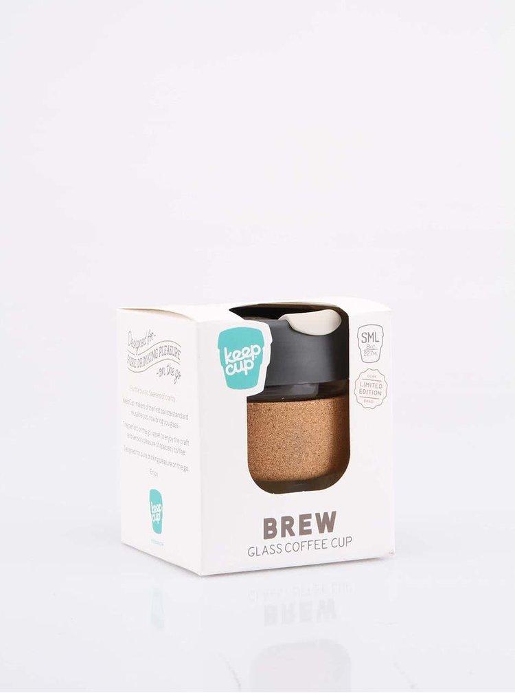 Designový cestovní skleněný hrnek KeepCup Brew Press Small