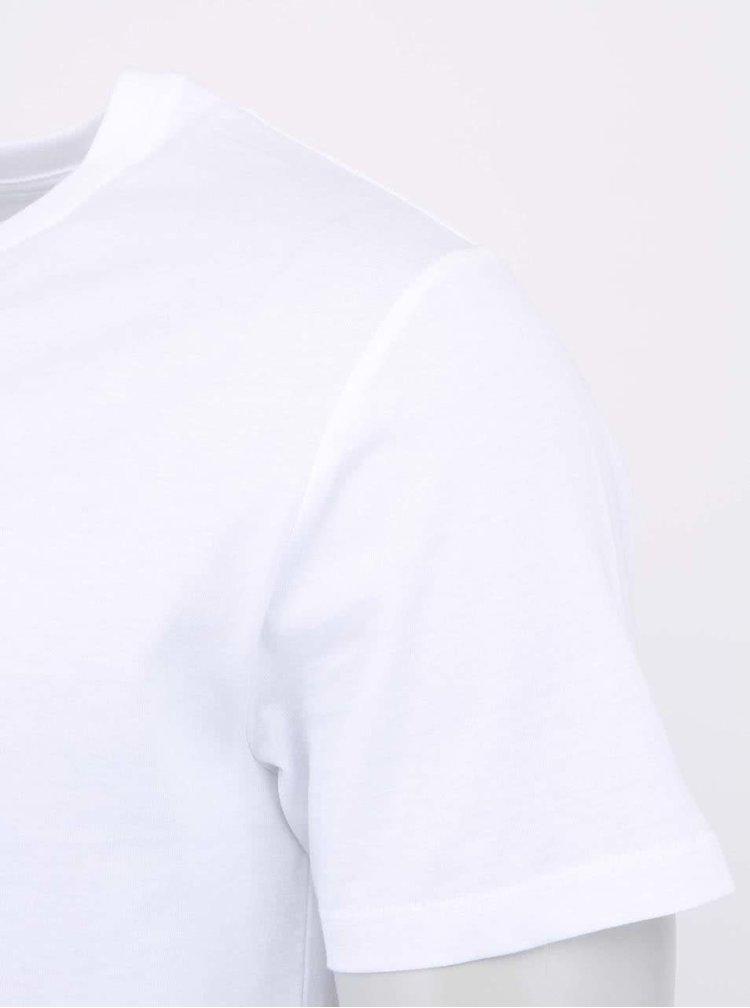 """""""Dobré"""" bílé pánské triko s grafikou Old´s Cool Elpida"""
