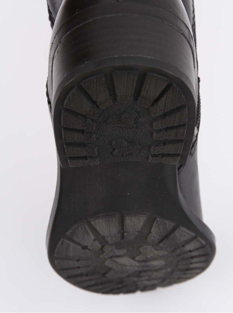 Cizme negre Tamaris de piele