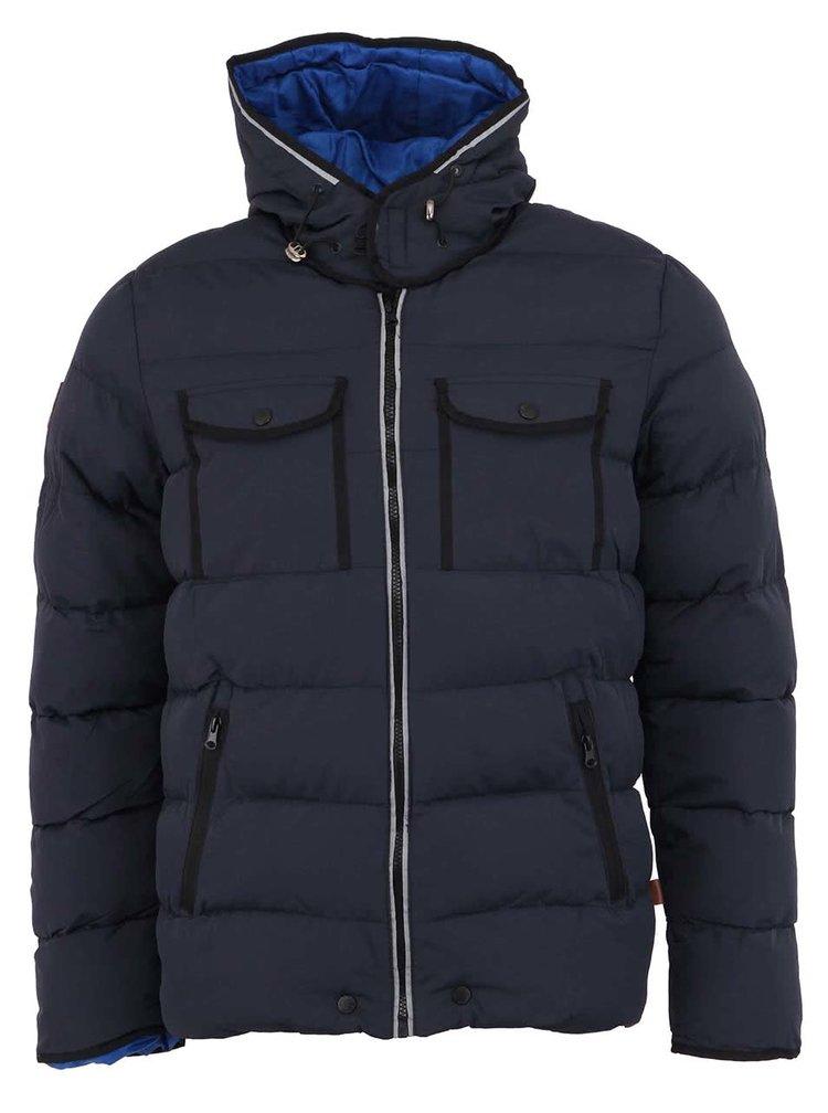 Jacheta de iarna barbateasca Bellfield Radon bleumarin