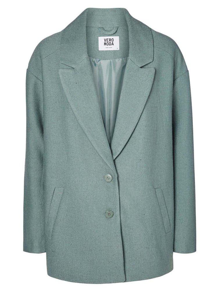 Zelený kabát VERO MODA Noa