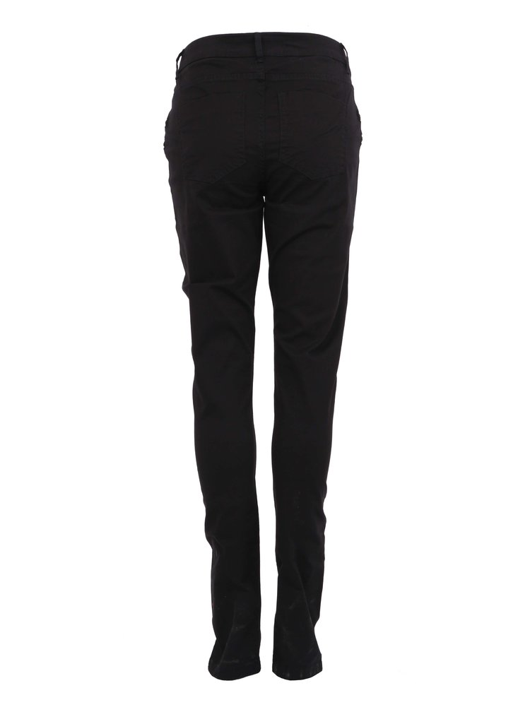 Pantaloni negri Fame cu fermoar dublu de la Noisy May