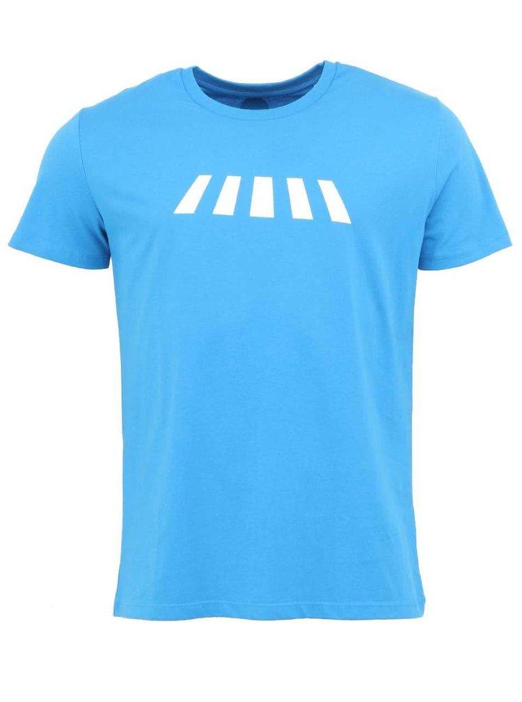 """""""Dobré"""" azúrovomodré pánske tričko Zažiť mesto inak"""