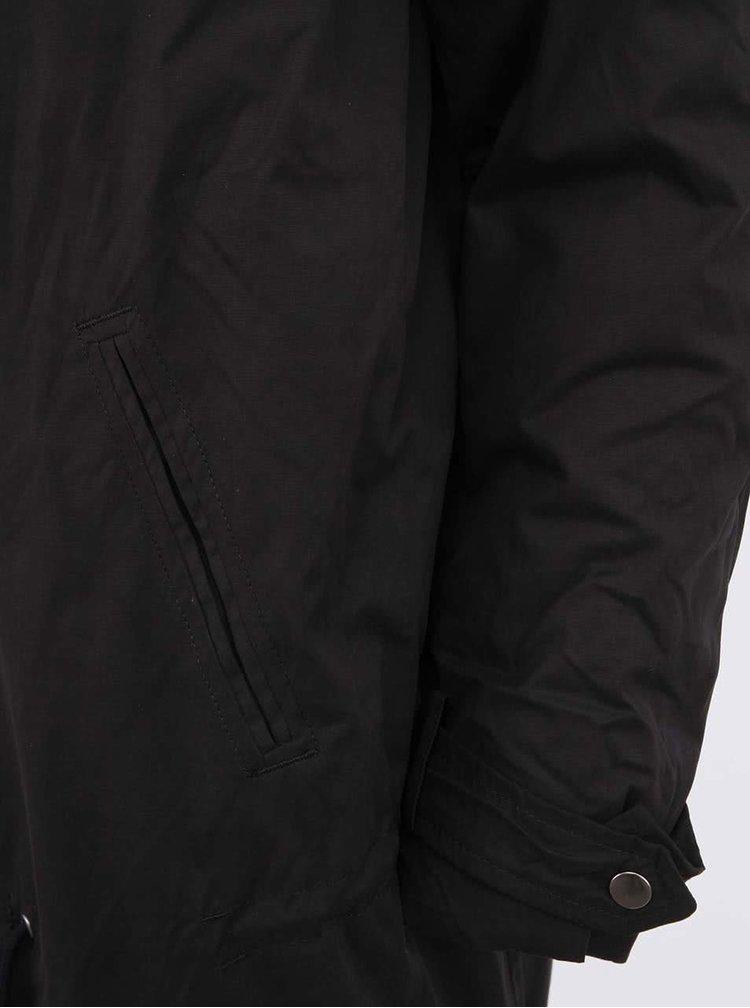 Černý kabát nejen pro těhotné  Mama.licious New Tikka