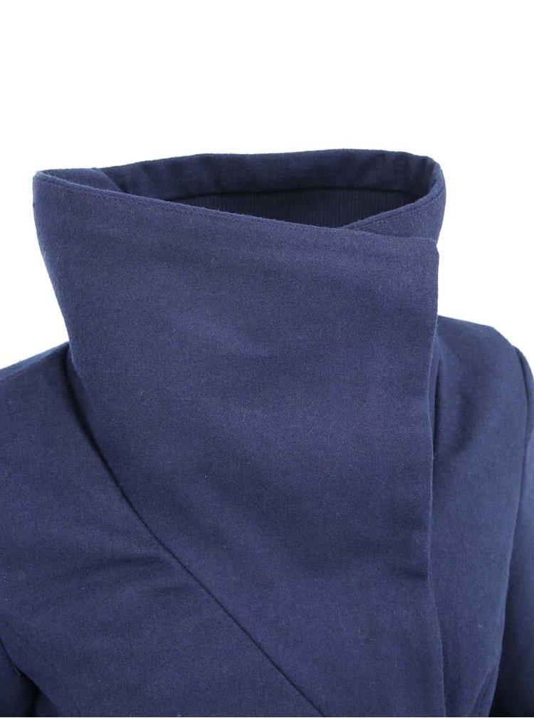 Palton Sandy albastru închis de la VERO MODA
