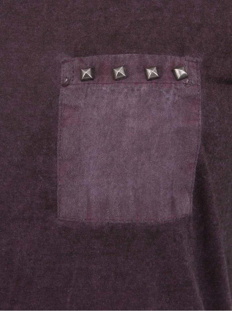 Fialové vintage tričko b.young Lotta