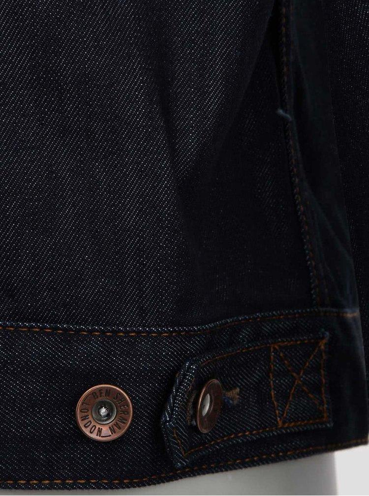 Jacheta bleumarin din denim de la Ben Sherman