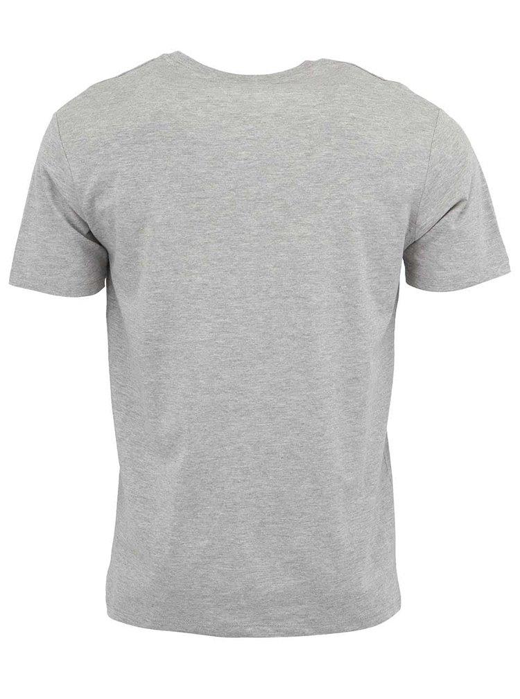 Sivé pánske tričko Stanley & Stella Acts