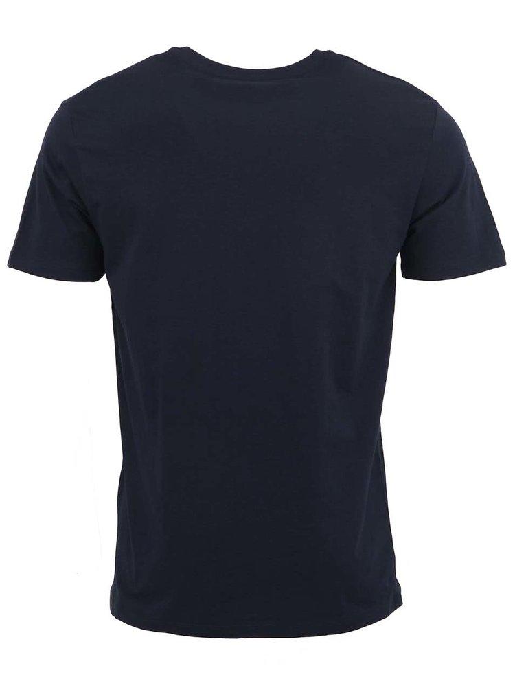 Tmavě modré pánské triko pod košili Stanley & Stella Acts
