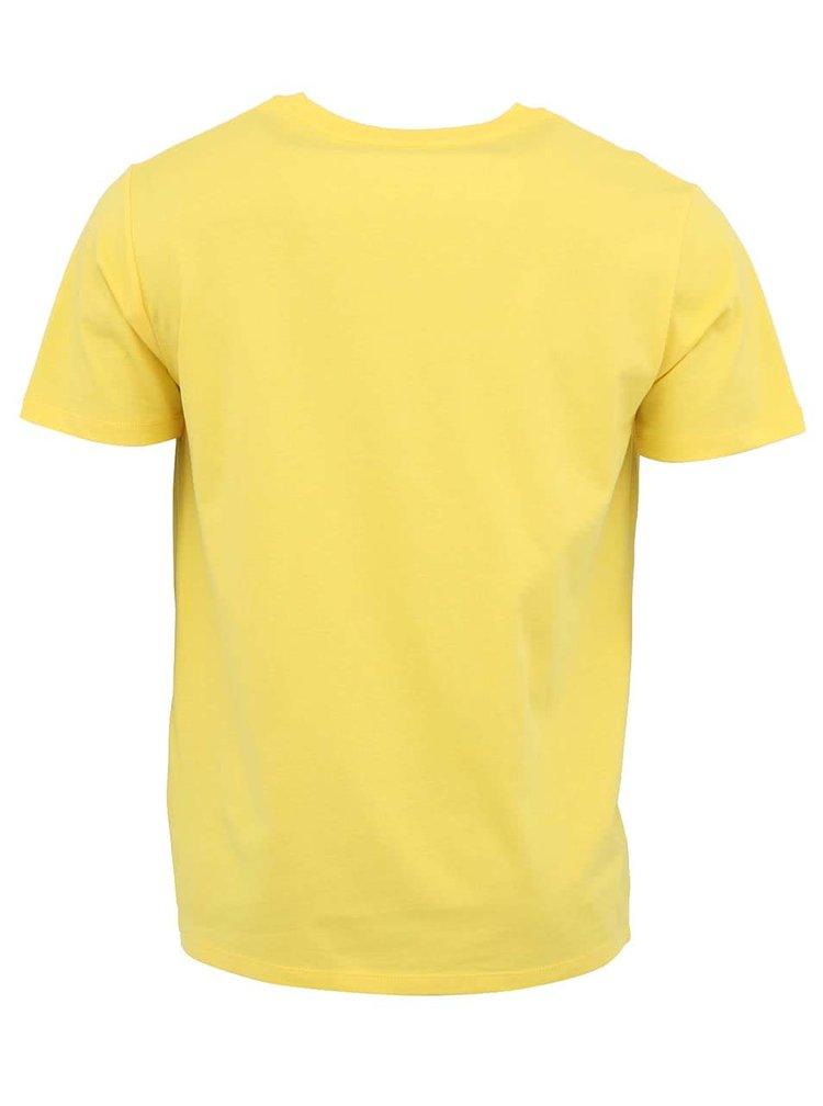 Svetlo žlté pánske tričko Stanley & Stella Leads