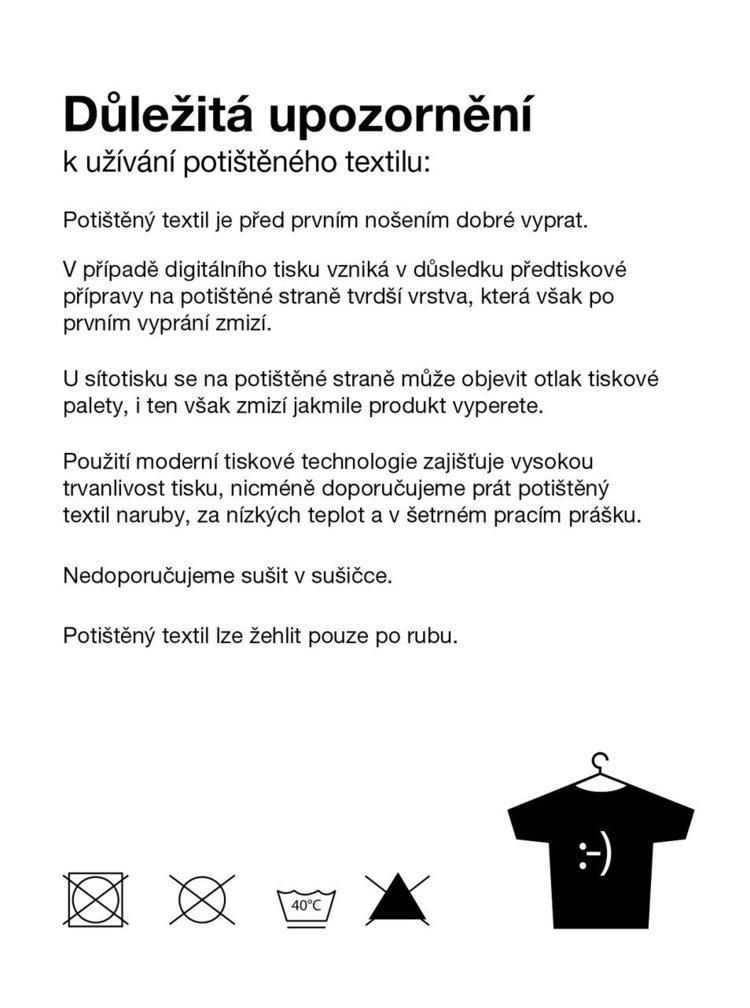 Bílé pánské tričko ZOOT Originál Střední pekáč buchet