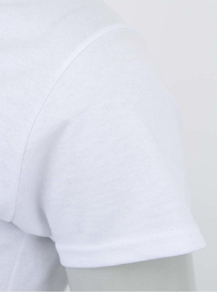 Biele dámske tričko ZOOT Originál Selfie