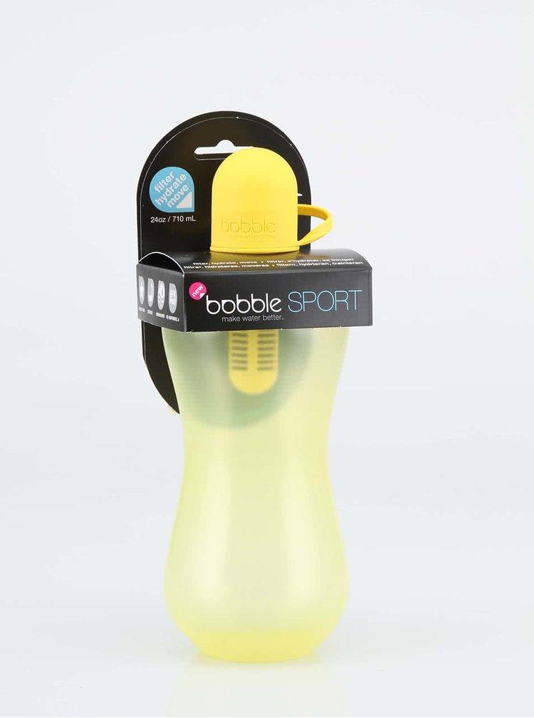 Sticla de apa cu filtru Bobble galbena